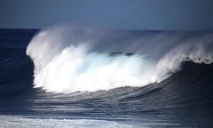 Power! (Carouge5) Tags: roughsea sea waves spray atlantic blue bluesky