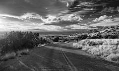 (el zopilote) Tags: newmexico landscape albuquerque sandiamountains riograndevalley lacueva blackandwhite bw blancoynegro monochrome clouds lumix cityscape noiretblanc nb bn g9 leicavarioelmarit1260mmf284asph cibolanationalforest 500 600