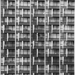 Building Abstract #120 (Joseph Pearson Images) Tags: building architecture abstract london upperriverside skidmoreowingsmerrill square blackandwhite bw mono