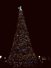 Epcot Christmas tree (frianbonjoster) Tags: florida orlando disneyworld christmastree epcot