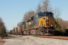 CSX T21103 (TolgaEastCoast) Tags: csx coal train t211 nettles newport news virginia es44ah es40dc gevo