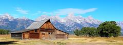 Grand Tetons Mormon Barn (fxrguy) Tags: grandtetons tetons tetonmountains mountains canon landscape landscapephotography mormonbarn mormon barn grandtetonsmormonbarn tamoultonbarn moultronbarn grandtetonsmountains