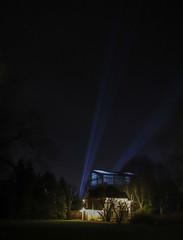 Botanical garden of Latvian University (JaaniicB) Tags: canon 77d sigma 1750mm f28 botanical garden light show night