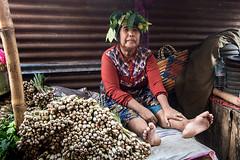 Mandalika market, Lombok, Indonesia (pas le matin) Tags: portrait woman travel voyage world indonésie indonesia candid asia asie southeastasia lombok seller vegetables street market mandalika
