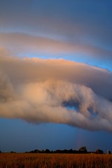 Unusual Thunderstorm Roll Cloud (thefisch1) Tags: storm roll cloud thunderstosm kansas pasture sky hole