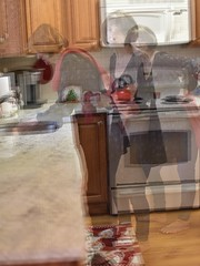 Multiple (Eric.Ray) Tags: woman wife kitchen work multiple exposures nikon d3500 wah