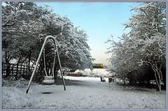 No play today (geoff7918) Tags: robinhoodcrescent playground stratford birmingham snow