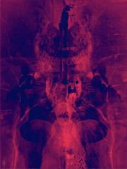 Strangers-mystery's photo series CD (jeffellis24) Tags: shaman meditation relaxing spiritualguide spiritual figures trees landscape birds manipulation faces abstract magic red photomanipulation