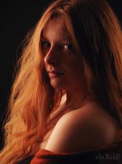Maren 4 (RickB500) Tags: portrait girl rickb rickb500 model beauty expression face cute hair maren freckles redhead