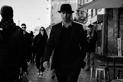 Almost classical mode (steveannovazzi) Tags: people street style classic man uomo milano milan italy italia stranger walking passante pedone attitude bw bn nb blackandwhite