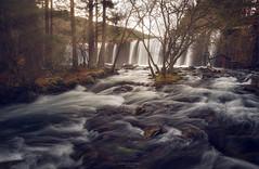 Amanece en la Presa (Chusmaki) Tags: cascadas ríos rascafria largaexposición sedas bosques sierra ngc