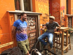 Daniel Cassús and Friend, Das Hotel, Berlin