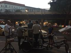 Camera Rickshaw Near the Berlin U-Bahn