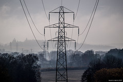 "Gareth's Photo of the Week 49  ""Pylons through the mist"""