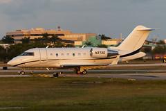N373G Challenger CL605 5870 KFXE (CanAmJetz) Tags: n373g challenger cl605 bombardier bizjet aircraft airplane sunset kfxe fxe 5870