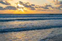 South Padre Island (allen ramlow) Tags: south padre island texas sunrise beach landscape seascape clouds water gulf coast sony alpha