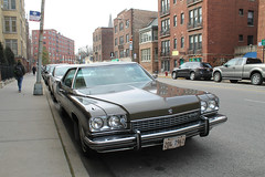 Deuce And A Quarter (Flint Foto Factory) Tags: chicago illinois urban city autumn fall winter december 2019 north lakeview wrigleyville boystown neighborhood addison broadway intersection 1973 buick electra 225 hardtop coupe 9961 produced manufactured hometown flint michigan front threequarter view deuceandaquarter generalmotors gm luxury car auto automobile classic brown worldcars slowride
