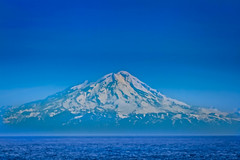 Mount Redoubt (http://fineartamerica.com/profiles/robert-bales.ht) Tags: alaska boats forupload places scenic transportation mountain nature volcano view sky rock hill stratovolcano snow patagonia travel natural landscape volcanic summit land outdoor white blast picture vintage touristattraction tourism landmark mountredoubt anchorpoint cvookinlet redoubtvolcano kenaipeninsula aleutianrange chigmitmountains anchoragerobertbales peak