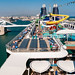 The port of Barcelona from the Norwegian epic