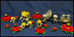 Okay kiddies, who wants milk and cookies (Karf Oohlu) Tags: lego moc microscale vignette figures cfreatures creche milkandcookies nursery