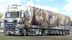 Thor The Viking King of the Roads (<< YARIK >>) Tags: ets2 scania viking heide logistic