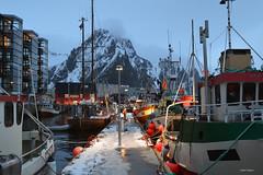 Svolvær (Aerisabel) Tags: svolvær cod lofoten landscape mountain snow fiordo norway travel winter