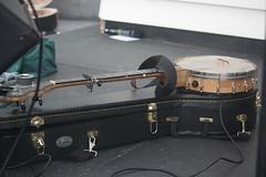 Banjos, Gimbris, etc. [Spike Lutes] 27: Banjo [open back] (of Lee Collinson) (KM's Live Music shots) Tags: musicalinstrument hornbostelsachs chordophone banjo leecollinson thesalts thescoop