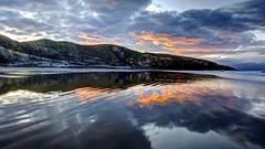 Chase the Dark away (pauldunn52) Tags: beach southerndown reflection sunrise glamorgan heritage coast wales