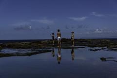 south coast NSW (Greg M Rohan) Tags: d750 nikon nikkor blue people reflection beach water reflections southcoast australia nsw royalnationalpark