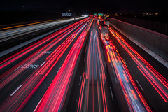 returning to normal flow (pbo31) Tags: bayarea night dark black color nikon d810 december 2019 boury pbo31 eastbay alamedacounty livermore roadway traffic rushhour accident 380 over lightstream red