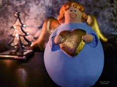 Happy Holidays (mariola aga) Tags: christmas xmas holidays decorations xmastree angel wings heart wishes phonephotography