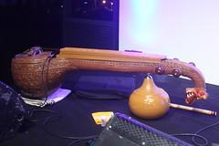 Mandolins, Bouzoukis, etc. [Necked Bowl Lutes] 137: Saraswati Veeena (of Raam Jeganathan) (KM's Live Music shots) Tags: musicalinstrument hornbostelsachs chordophone saraswativeena india ragaroomsveenaviolinvenu sadlerswells
