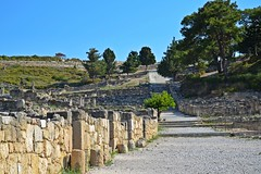 goodbye Kamiros! :) (green_lover (your COMMENTS are welcome!)) Tags: ruins kamiros rhodes greece ancient history walls path hills vanishingpoint thechallengefactory