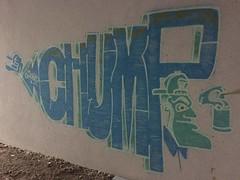 Chump (svennevenn) Tags: chump graffiti bergengraffiti gatekunst streetart bergen