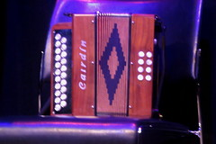 Accordions, Concertinas, etc. [Free Reed Instruments] 16: Melodeon [2 row] (of Ian Stephenson) (KM's Live Music shots) Tags: musicalinstrument hornbostelsachs aerophone melodeon accordion ianstephenson balticcrossing kingsplace