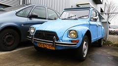 Citroën Dyane 6 (Skylark92) Tags: nederland netherlands holland zuidholland southholland delft citroën specialist garage van bemmelen dyane 6 ds82sy 1979 onk origineel nederlands kenteken