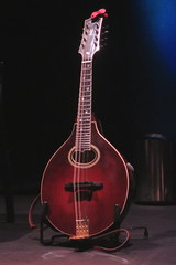 Mandolins, Bouzoukis, etc. [Necked Bowl Lutes] 14: Mandolin [A Style] (of Darren McMullen) (KM's Live Music shots) Tags: musicalinstrument hornbostelsachs chordophone mandolin darrenmcmullen coig kingsplace
