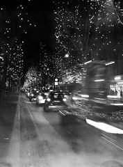 Ku'Damm by Night (Lars_Holte) Tags: pentax 645 pentax645 645nii 6x45 smcpentaxfa 75mm f28 120 film 120film analog analogue foma fomapan200 200iso caffenolcm mediumformat blackandwhite classicblackwhite bw monochrome filmforever filmphotography ishootfilm larsholte homeprocessing berlin germany deutschland nocturnal nightshot