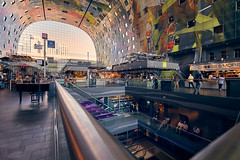 Markthal Rotterdam (Photodoos) Tags: markthal rotterdam irix15mm canonnl architecture shopping market