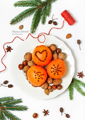 December 16th... (sch.o.n) Tags: anise background ball brown card celebration christmas cinnamon citrus clove cloves cone decoration decorative festive fir food fruit gift gold golden green healthy heart holiday homemade nuts orange oranges ornament pine plate pomander red season seasonal spice spices sweet symbol traditional tree white winter wood