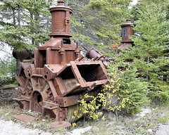 Not Making Pulp For 103 Years (95wombat) Tags: newfoundland canada rust industrial decay machinery abandoned