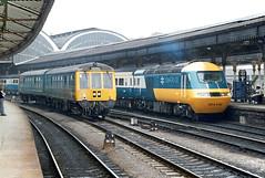 HST Flashback (Kingmoor Klickr) Tags: gordonedgar york class43 43119 intercity 125 254032 class114 derby dmu 50026 56013