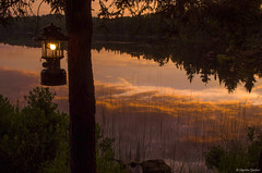 Changing of the Light (M@rtha Decker) Tags: esther lake grand portage state forest minnesota minn mn hovland marais canadian border arrowhead trail northwoods north woods backwoods remote rustic wilderness camping camp campsite sunset coleman 228f lantern sunshine reflection nature outdoors outside natural beauty scenic scenery pentax k30 dslr tamron 18200mm zoom lens marthadecker justpentax onlyinmn upnorth