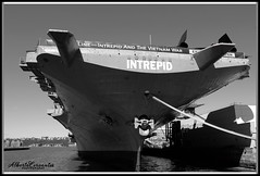 INTREPID. NEW YORK CITY. (Alberto Cervantes Photography.) Tags: intrepid theussintrepid usa nyc manhattan city newyork indoor outdoor blur heaven sky sea lake ocean river streetphotography photography seaairspacemuseum air space museum thefighting aircraft water pier port monochrome superbw super bw blackwhite black white building icono iconic historia history retrato portait photoart art creative photoborder reflejo reflection luz light color colores colors brillo bright brightcolors nightcolor colorlight vessel