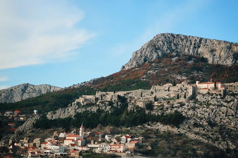 Mostar, Bosnia in our Sprinter van