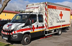 Cruz Roja (emergenciases) Tags: emergencias españa 112 comunidaddemadrid guadarrama sanitarios simulacro cruzroja cruzrojamadrid iveco camión truck logística erie equipoderespuestainmediataenemergencias