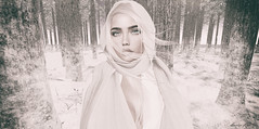 Never Be Enough (larisalyn (Rachel)) Tags: blonde snow winter girl secondlife