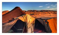 Bivouac au petit matin... (Jean-Louis DUMAS) Tags: maroc dune sable paysage landscape landscapes dreams nature dream trip travel traveler