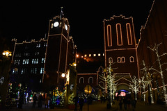 Brewery Lights (Robby Gragg) Tags: budweiser anheuser busch brewery christmas lights st saint louis