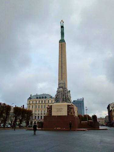 Brīvības piemineklis (Freedom Monument), Riga